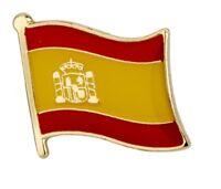 Spanish Flag Spain Pin Lapel Badge Espana High Quality Gloss Enamel