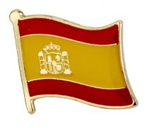 Spanish Flag Spain Pin Lapel Badge Espana High Quality Gloss Enamel