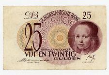 Netherlands … P-77 … 25 Gulden … 1945 … *F*