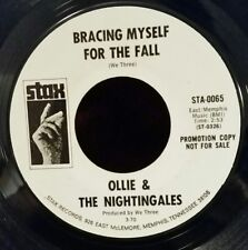 "Ollie & The Nightingales ""BRACING MYSELF FOR THE FALL"" RARE PROMO / PLAYS GREAT!"