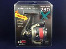 NEW! U.S. Reel - SuperCaster 230X - Spinning Reel - Field & Stream Editor's Pick