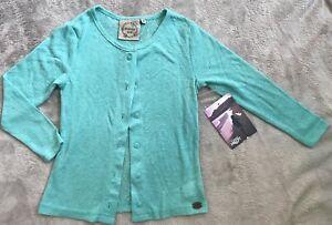 PIPING HOT *BNWT* Aqua Long Sleeve Cardigan Size 4. Combined Post