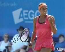 Madison Keys Tennis Signed Auto 8x10 PHOTO Beckett BAS COA
