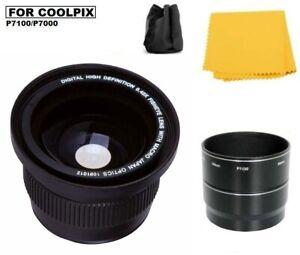 Sakar 0.42x Panoramic FISHEYE Lens for Nikon Coolpix P7000 P7100