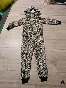 Jumpsuit Kinder Schlafanzug, Mädchen,Gr. 122/128 H&M