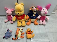winnie the pooh soft toy bundle