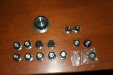 Lot of Heathkit Knobs Set 1 Large 9 Small and 5 other miscellaneous knobs