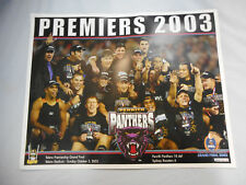 2003 PREMIERS PENRITH PANTHERS  RUGBY LEAGUE  TEAM PHOTO