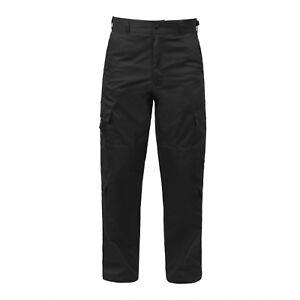 Tactical Uniform Cargo Pants 9 Pocket EMT EMS Paramedic Medic Work Duty Trousers