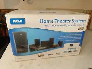NEW SEALED 2011 RCA Home Theater SYSTEM RT2911 HDMI 1000 WATT DIGITAL.