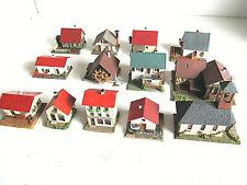 14 uralte Gebäude ( 50er und 60er) von Faller, Vaupe und Wiad Spur H0