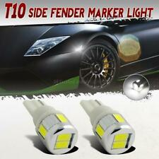 White 5730-Smd High Power 2825 194 168 Signal Front Side Marker Led Car Bulb X2