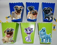Puppy Dog Pals Party favors/ goodie bags/ Popcorn Candy Box SET OF 10