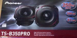 """Pioneer TS-B350PRO 3-1/4"""" High Efficiency PRO Bullet Tweeter"""