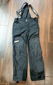Spyder ski bib pants, full side zip, reinforced *NO RESERVE*