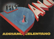 ADRIANO CELENTANO disco LP STAMPA ITALIANA Disco Dance 1977 MADE in ITALY
