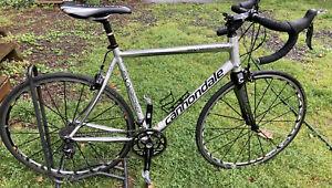 Cannondale Synapse Road Bike 56cm Ksyrium Wheels, 105, Look Pedals