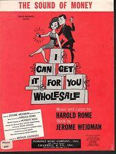 The Sound of Money 1962 I Can Get It For You Wholesale Sheet Music