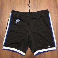 Vintage Nike Penny Shorts Royal Foamposites Orlando Magic Sz M Nba Lebron Kith