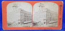 New York Rochester Powers' Commercial Building Rochester Views Stereoview