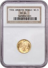 1926 Sesquicentennial $2 1/2 NGC MS64 - Classic Commemorative - Gold Coin