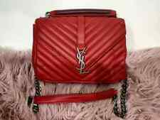 Yves SAINT LAURENT Handbag - Red Full Leather