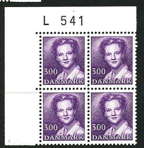 Denmark 1983 Queen Margrethe kr 3.00 number block of four. MNH.