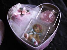 Cherished Teddies retired NIB.Cecelia Mother's Day Gift Set heart box 679089