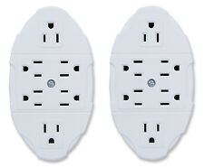 "6-Outlet Multiplier ""Set of -2"" Wall-Tap Outlets Ideaworks - 12 Outlets in Total"