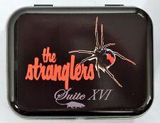 THE STRANGLERS SUITE XVI BLACK WIDOW SPIDER RAT PUNK ROCK HINGED TIN MINTS PILL