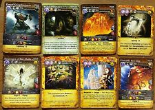 Mage Wars Promo Cards x8 Dice Tower Kickstarter 2015 Complete Mint