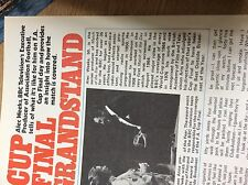 boxm1a ephemera 1979 article grandstand bbc f a cup alan weeks