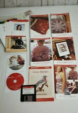 New listing Mixed Lot Husqvarna Viking Users Guides/Books and 4 Assorted Discs