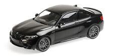 Minichamps 155028001 - BMW M2 Competition – 2019 Black Metal 1/18