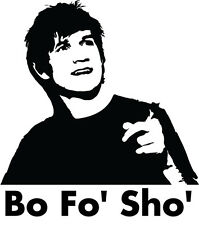 Bo Burnham bo fo sho comedy funny vinyl decal car bumper sticker dvd tv comedian