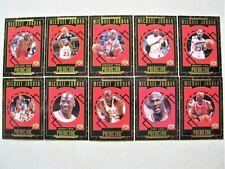 MICHAEL JORDAN CHICAGO BULLS 1995-96 UPPER DECK PREDICTOR LOT OF 10 #R1-5 CARD