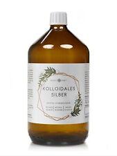 Kolloidales Silber (Silberwasser), 100ppm in Apotheker-Glasflasche (250-1000 ml)