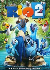 DVD - Animation - Rio 2 - Jessie Eisenberg - Anne Hathaway - Jemaine Clement