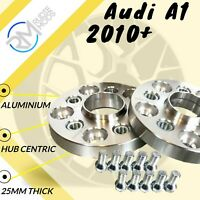 Audi A1 2010 Onwards 25mm ALLOY Hubcentric Wheel Spacers 1 pair