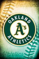 OAKLAND A'S - LOGO POSTER - 22x34 ATHLETICS BASEBALL MLB 13253