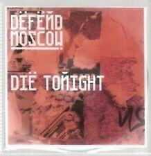 (AU160) Defend Moscow, Die Tonight - DJ CD
