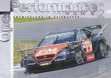 OPEL Performance News 7/01 ASTRA v8 Coupè OPC X-TREME Manuel Reuter V. STRYCEK