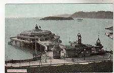 Promenade Pier - Plymouth Photo Postcard c1905