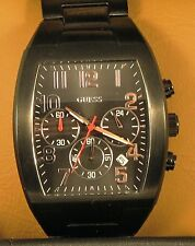 Guess U0011G2 Black Dress/Casual Chronograph Men's Watch - New - FREE Shipping
