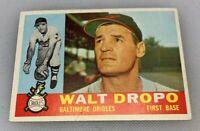 1960 Topps # 79 Walt Dropo Baltimore Orioles Baseball Card