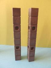 PLaymobil Stütze kurz 2 Stück Verbinder Drachenfestung 3269  kompatibel zu 3268