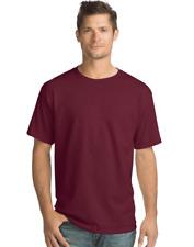 8 Hanes ComfortSoft® Men's Short-Sleeve Crewneck T-Shirts O5280