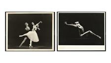 TWO VTG PHOTOS. LISA PAVANE. GREG HORSMAN. REX HARRINGTON. AUSTRALIAN BALLET.