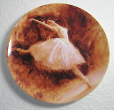 """Wedgwood """"The Dress Rehearsal"""" Bone China Plate  Passion Of Dance Collection"""