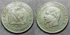 Napoléon III, 5 centimes 1855 K, TB à TTB (RARE)